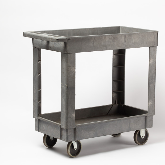 Rubbermaid 2 Shelf Cart / Small