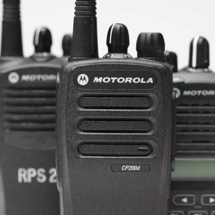 Motorola 16 Channel VHF Portable Radio