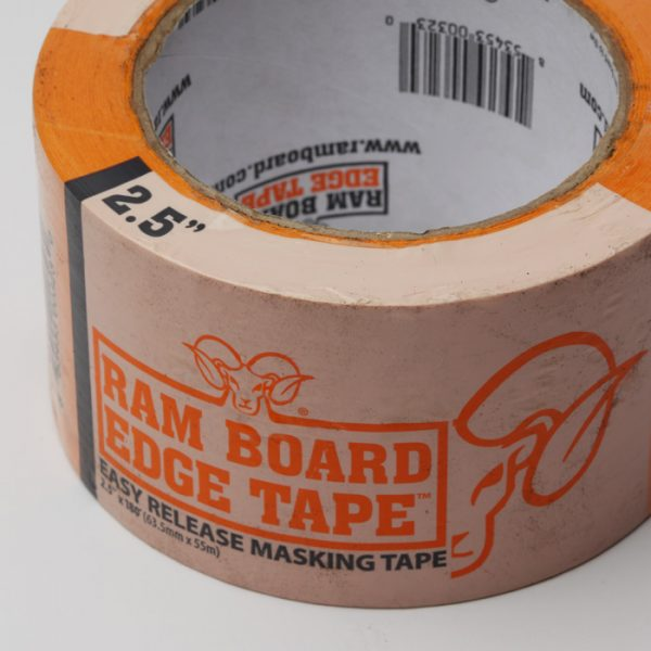 "Tape / 2.5"" Ram Board Edge"