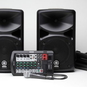 PA System w/ Stands / Yamaha