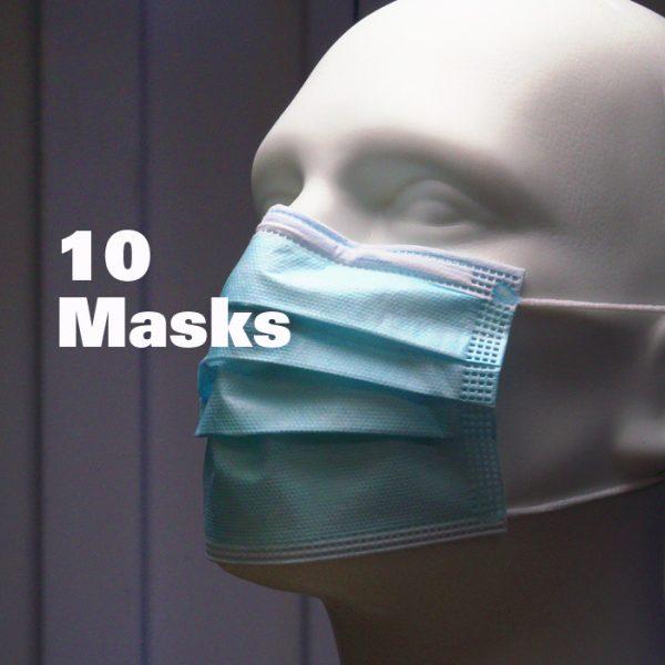 Disposable Masks / 10ct