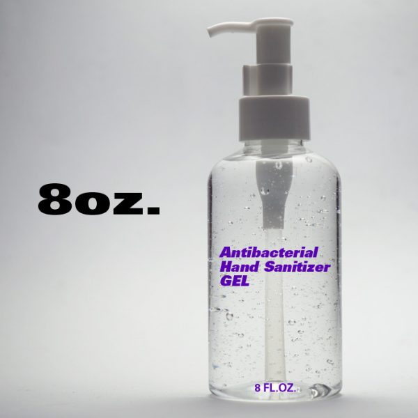 Hand Sanitizer / 8 oz.
